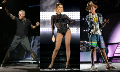 Soul Train Awards 2014 Nominees: Chris Brown, Beyonce + Pharrell Lead The Pack