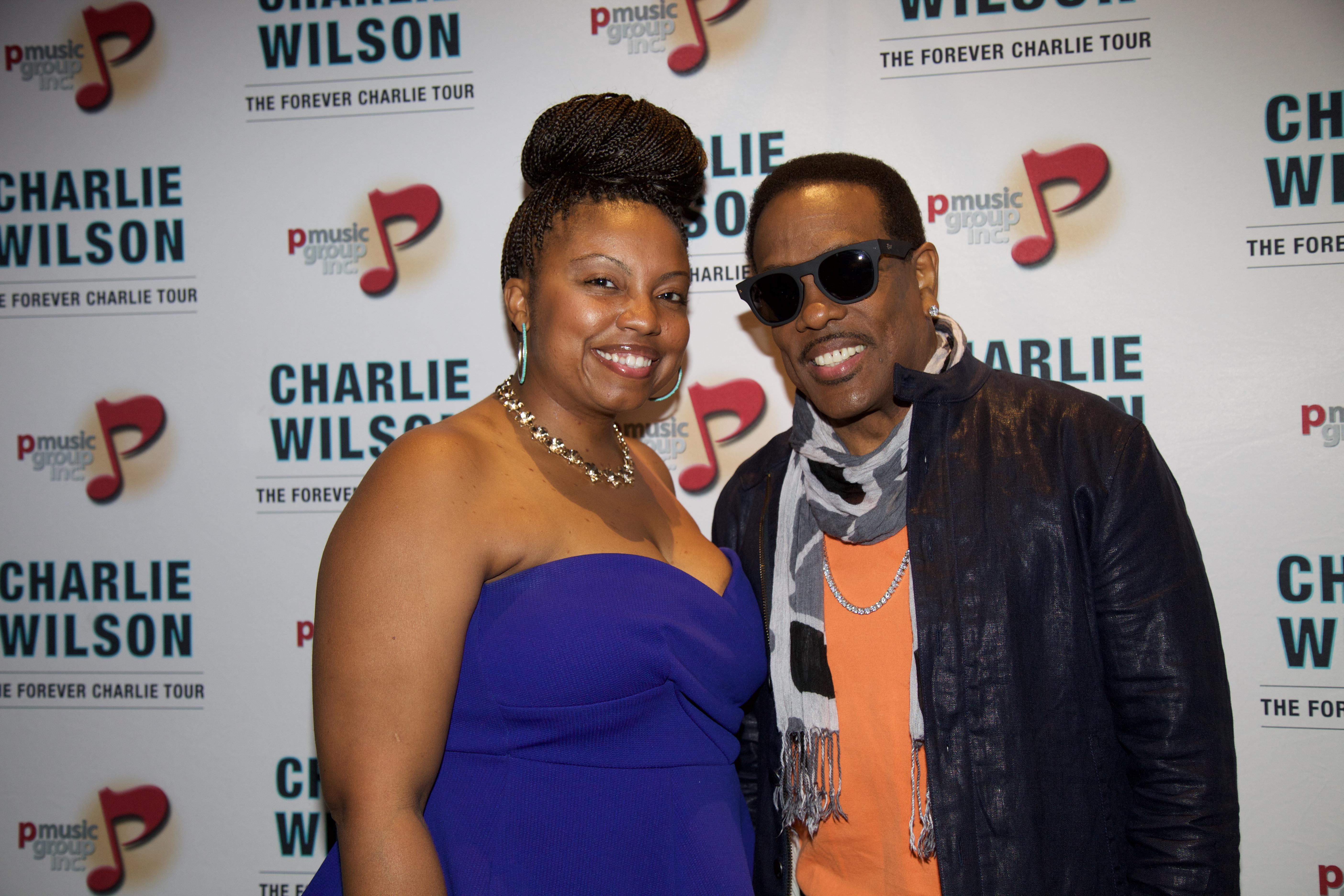 Charlie Wilson VIP's Meet & Greet