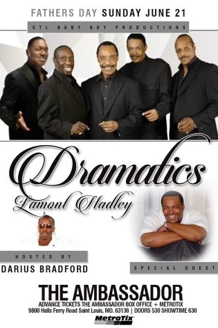 STL Baby Boy Productions - The Dramatics - Father's Day