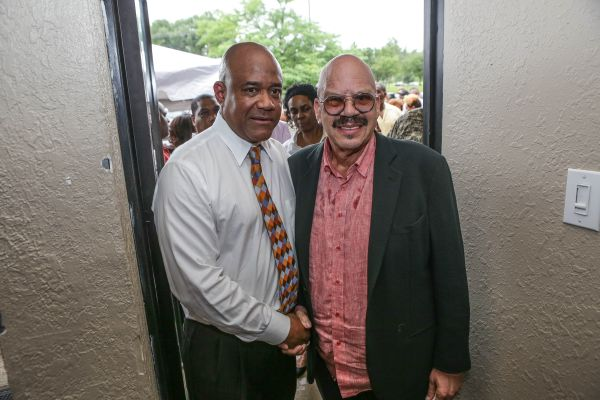 Tom Joyner At Elmo's Love Lounge