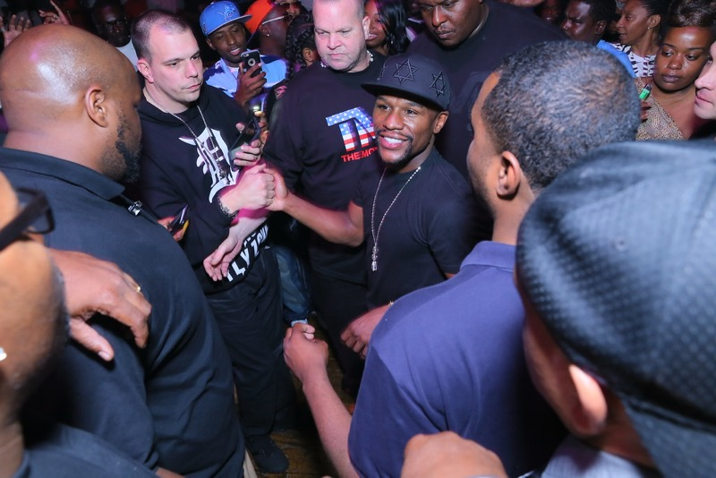 "Floyd Mayweather's ""King of the Ring Celebrity Victory Party"" at The Fillmore in Detroit"