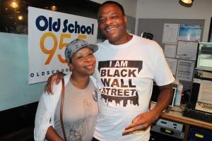 DJ Kut and Lesley McSpadden