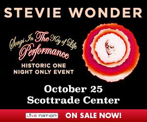 Live Nation - Stevie Wonder