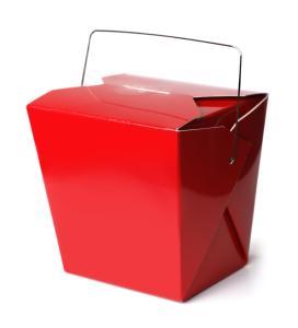 Chinese Take-Out Food Box