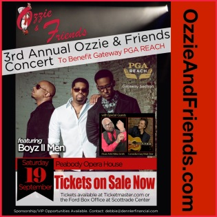 Ozzie Smith Charitable Foundation-Boyz II Men