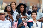 Date Night! Kelly Rowland & Hubby Support Serena Williams At US Open