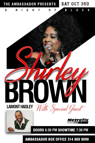 KB Snacks and Confectionary - Shirley Brown Concert