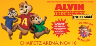 Chaifetz Arena - Alvin and the Chipmunks