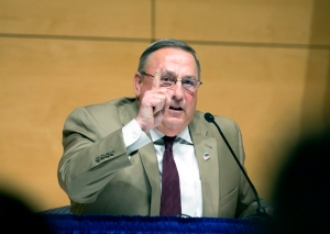 Gov. LePage brings his town hall tour to Portland