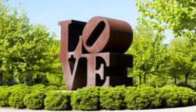 LOVE Sculpture at IMA by Robert Indiana