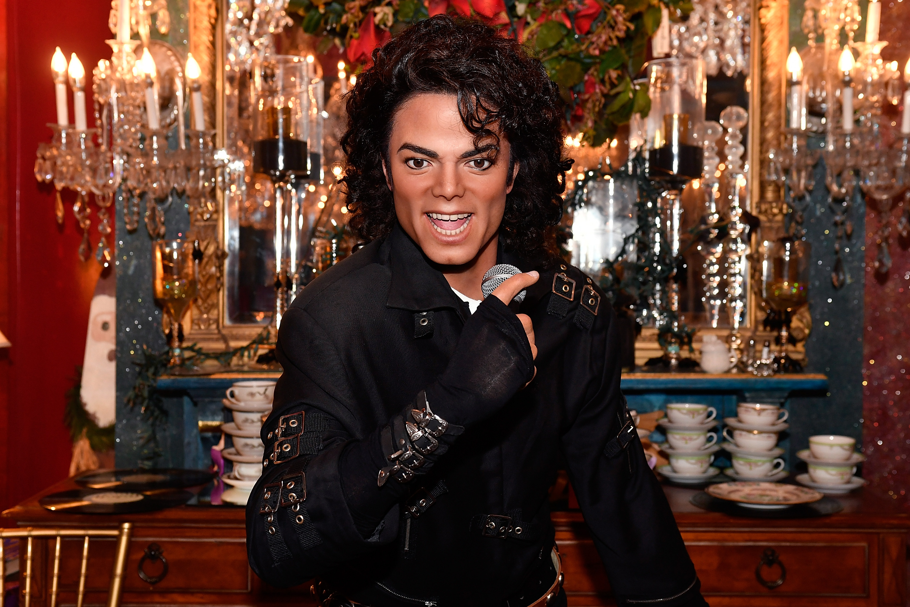 Madame Tussauds DC Celebrates Michael Jackson's Birthday With Three Figures of the Music Icon at the Mansion on O Street