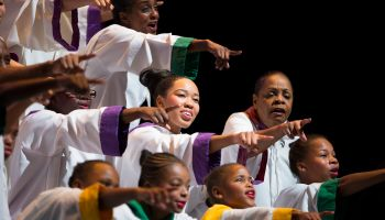 Boston's black community performs the 'Black Nativity' play for the 46th year
