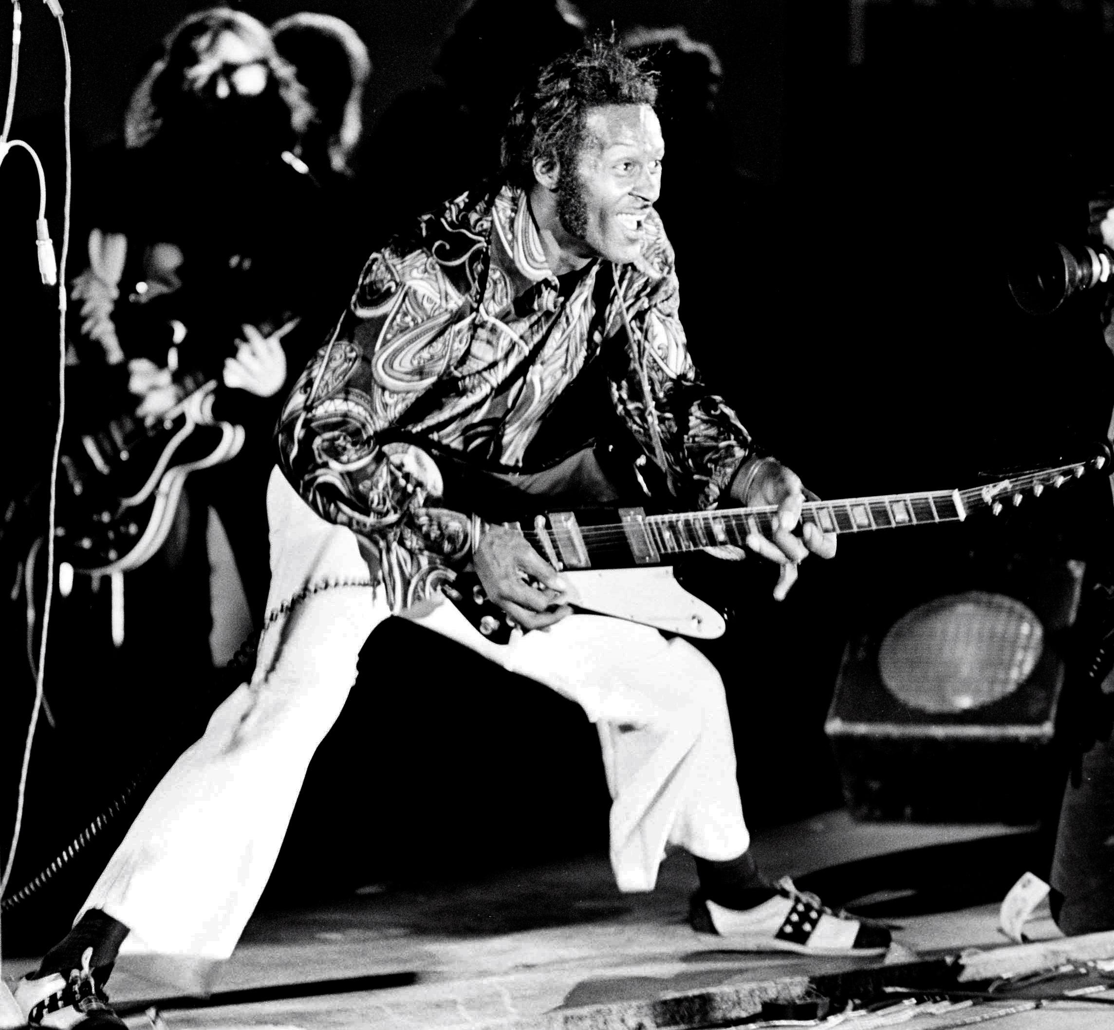 Chuck Berry Performs In Holland