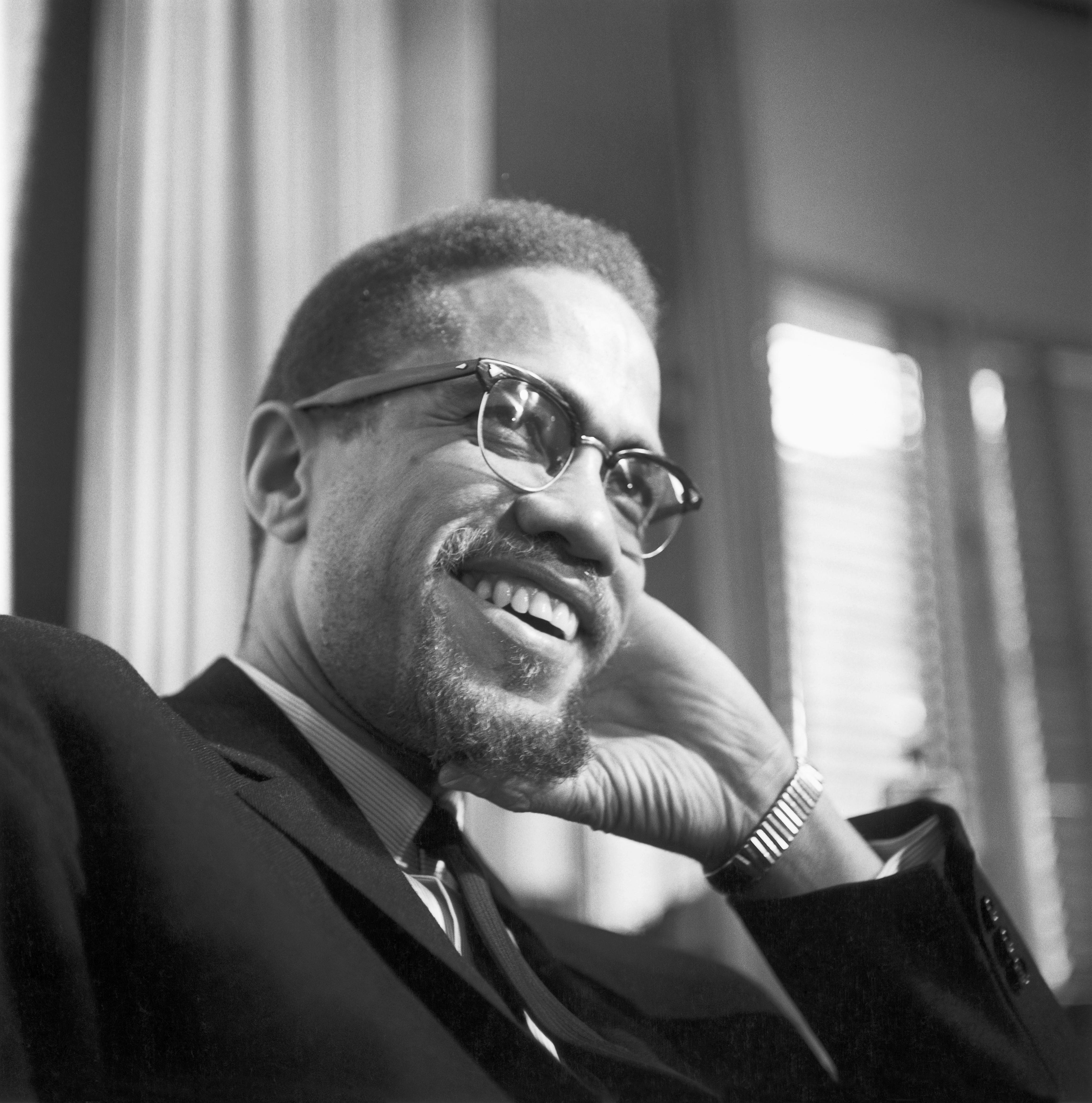 Malcolm X Portrait