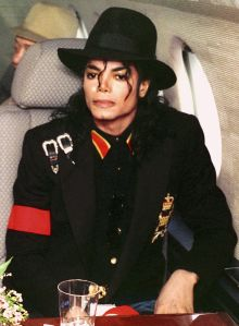 Michael Jackson and Donald Trump Await Take-off for their Visit to Child AIDS Patient Ryan White