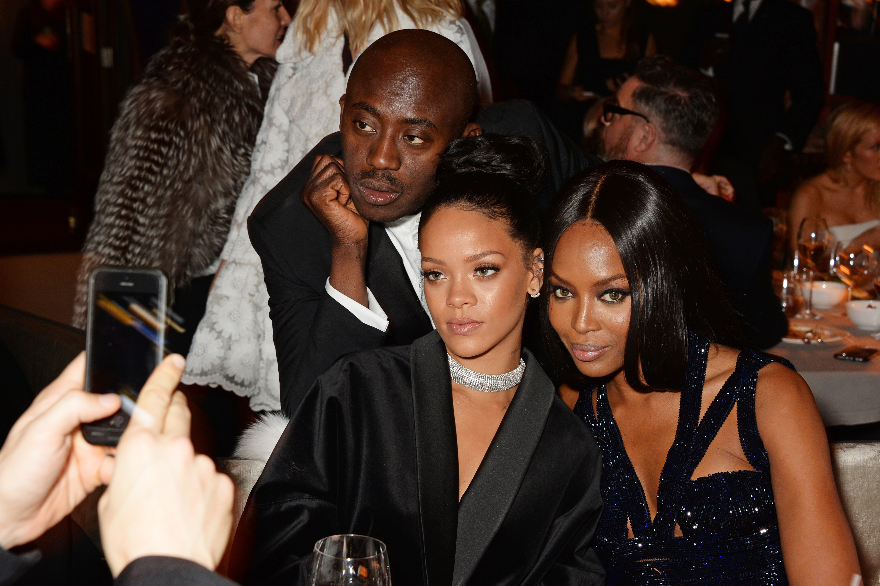 British Fashion Awards - Inside Dinner