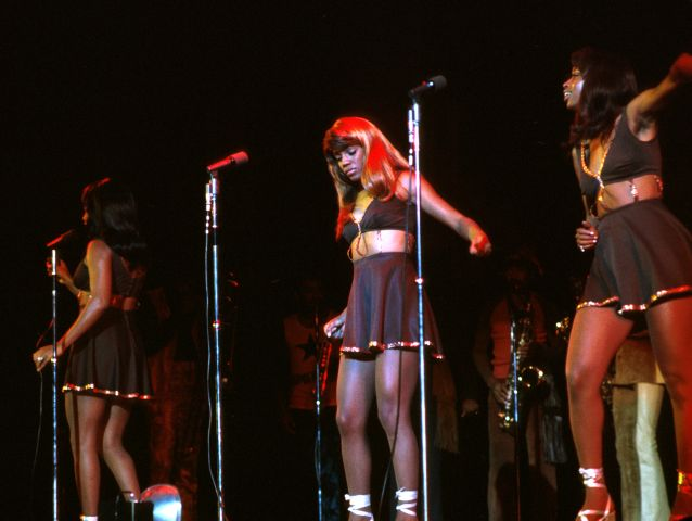 The Ikettes At The Greek