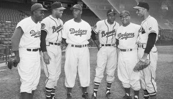 Negro League Stars in Major League Uniforms