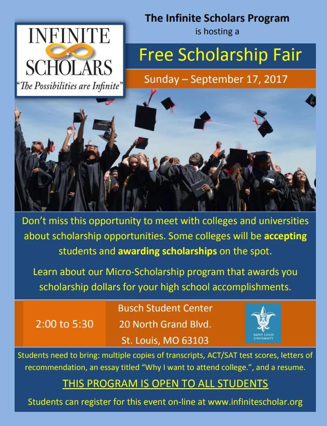 scholarship event flyer scholarship event flyer