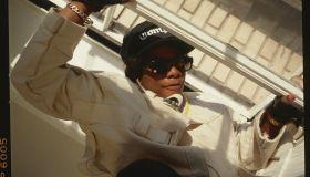 Rapper Eazy-E of NWA