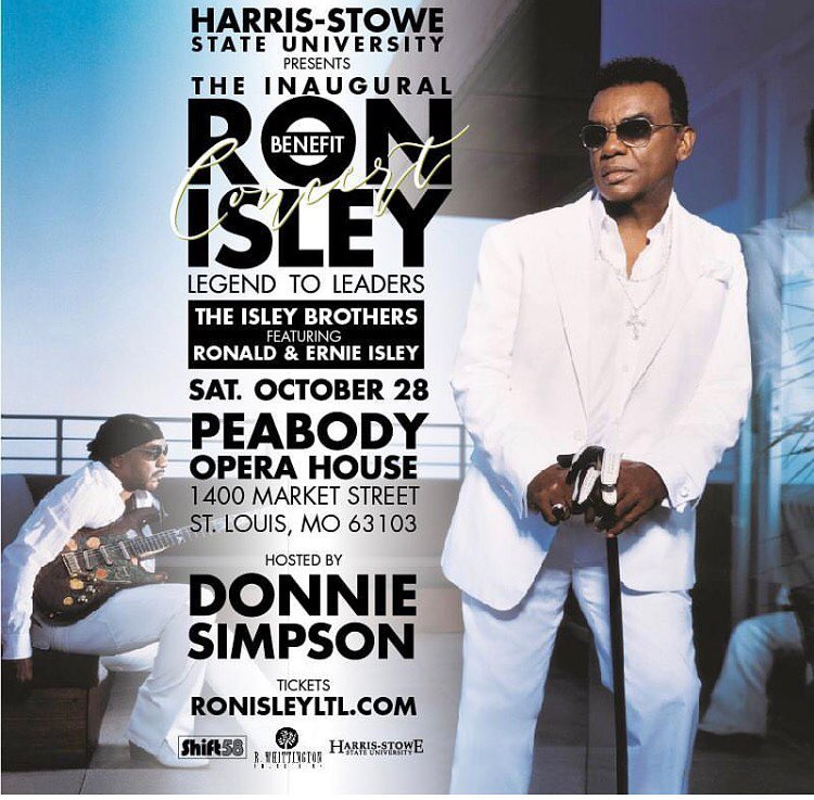 Ron Isley Legends to Leaders Benefit