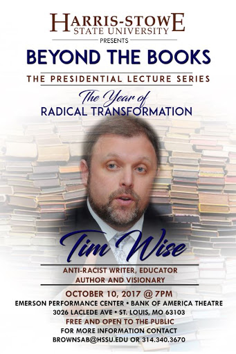Tim Wise at Harris Stowe State University