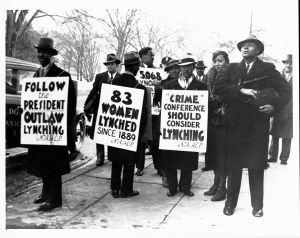 NAACP Pickets the Crime Conference in Washingtion, D.C.