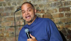 Sinbad Performs At The Stress Factory Comedy Club