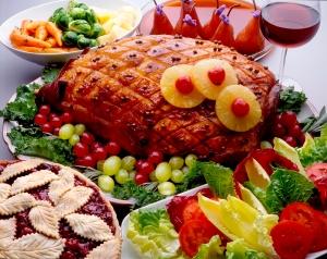 Ham plate