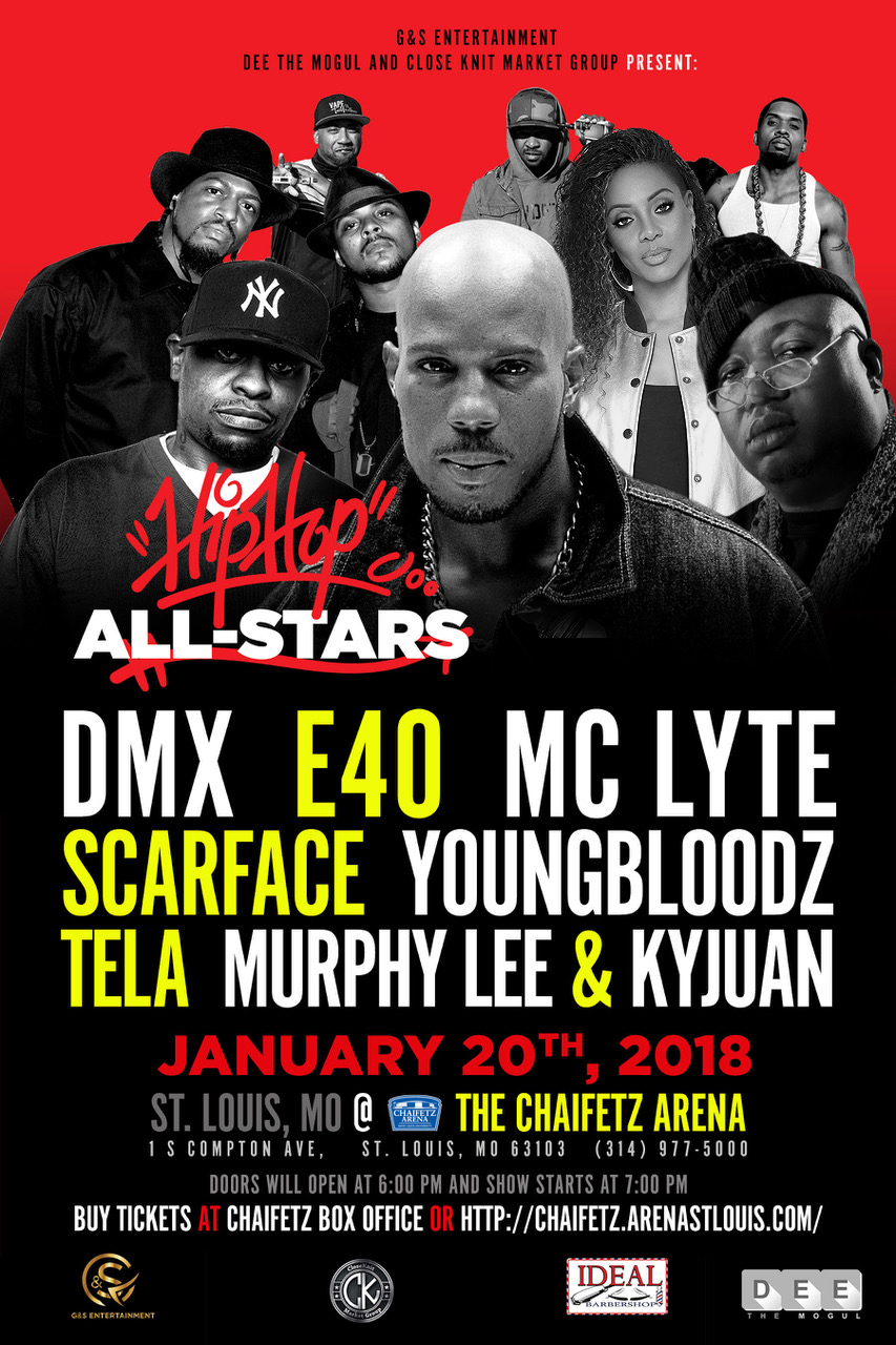 All Stars of Hip Hop STL