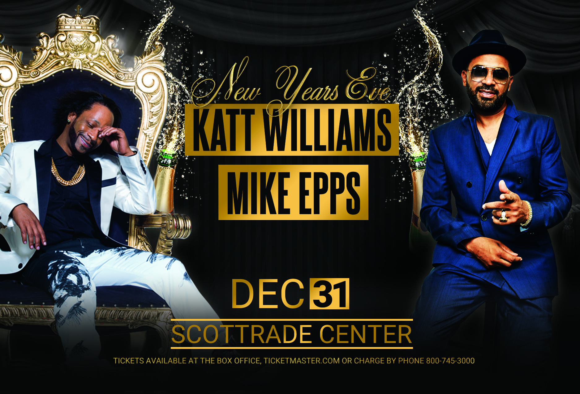 Katt and Mike - NYE