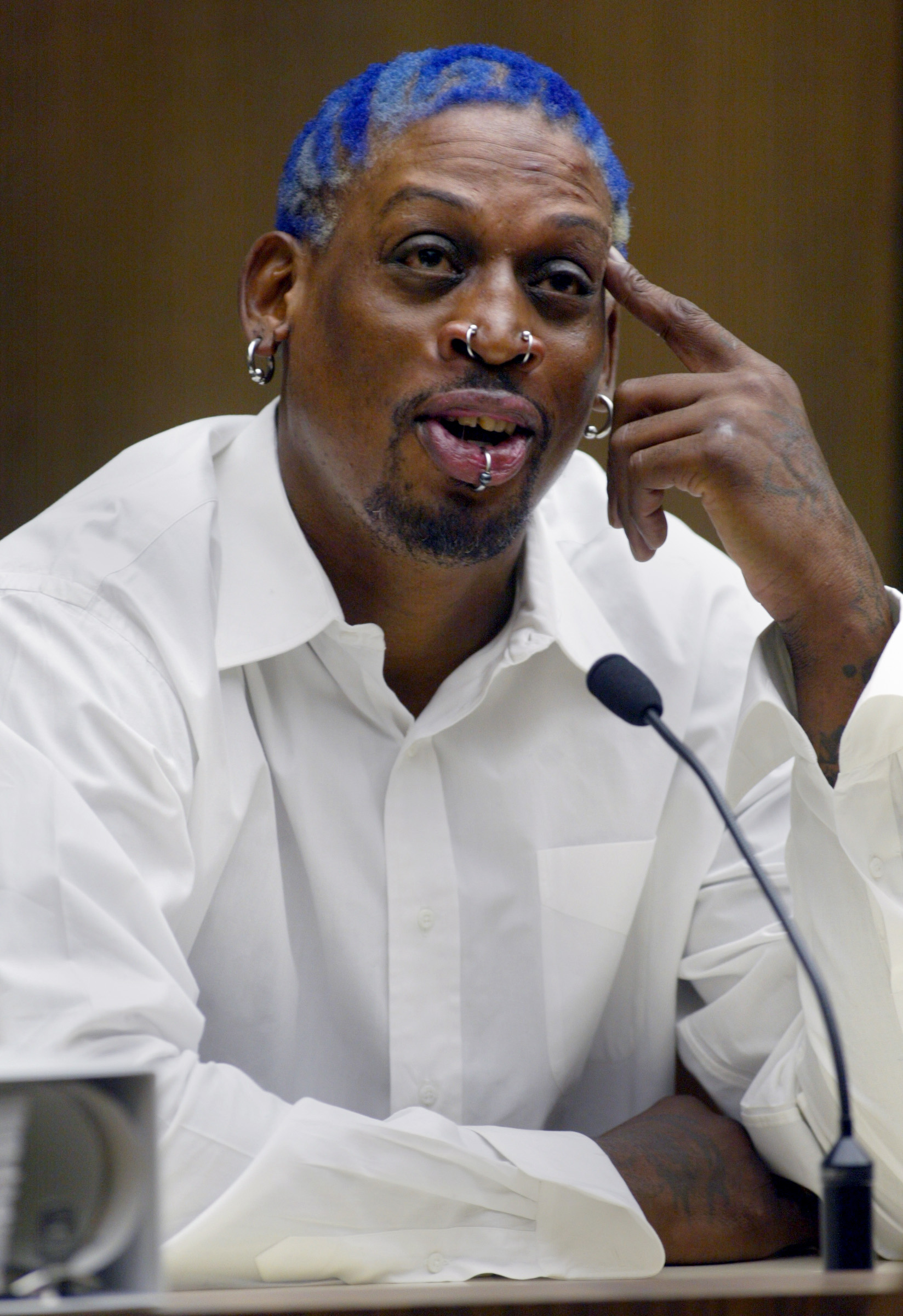 68293.ME.0731.rodman––(Santa Ana)–Former Chicago Bulls and Laker basketball star Dennis Rodman testi