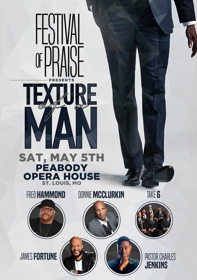 Fred Hammond Festival of Praise Tour STL