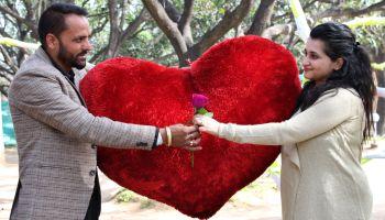 Couples Enjoy On Valentine's Day