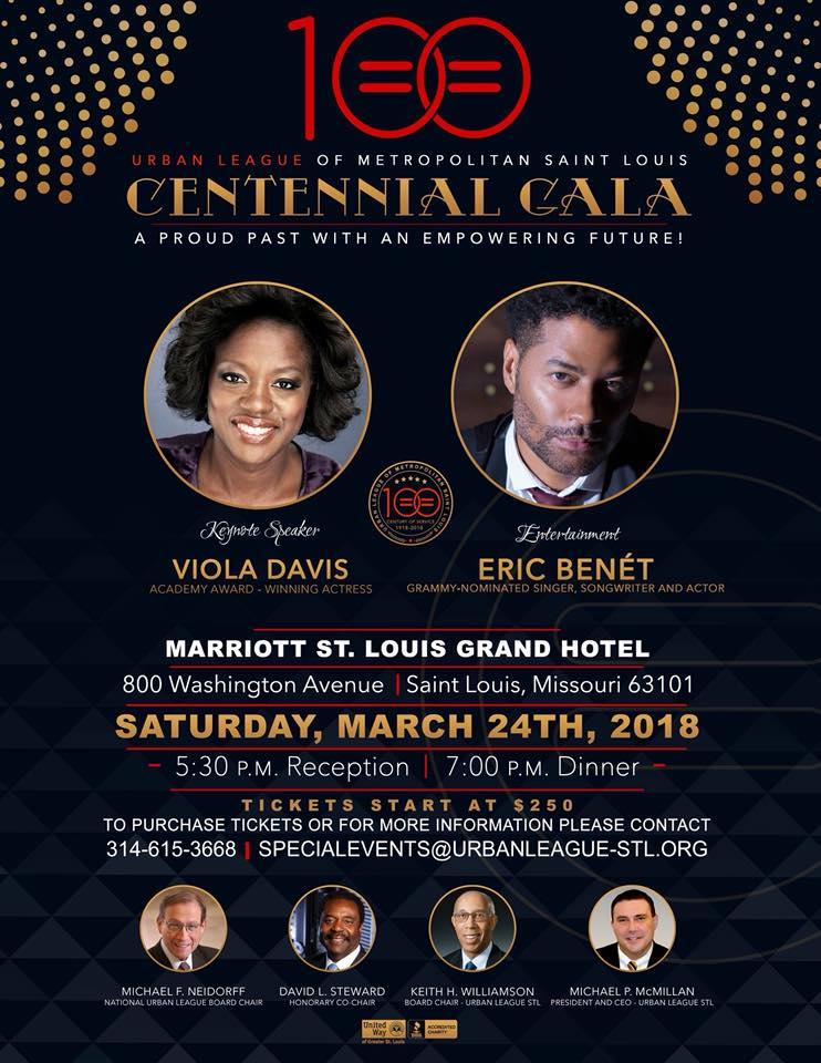 Urban League Gala with Viola Davis and Eric Benet