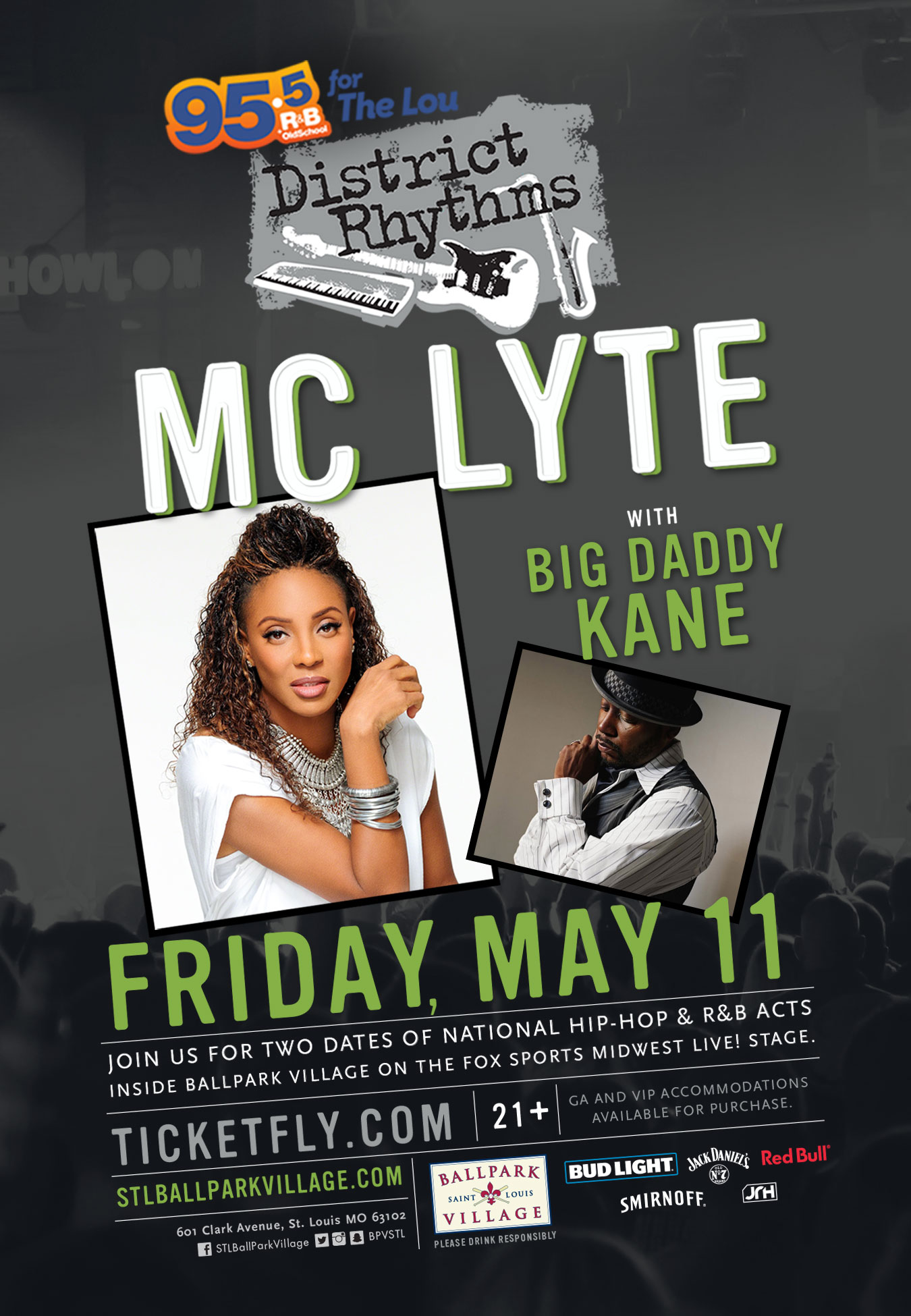 District Rhythms featuring BDK and MC Lyte