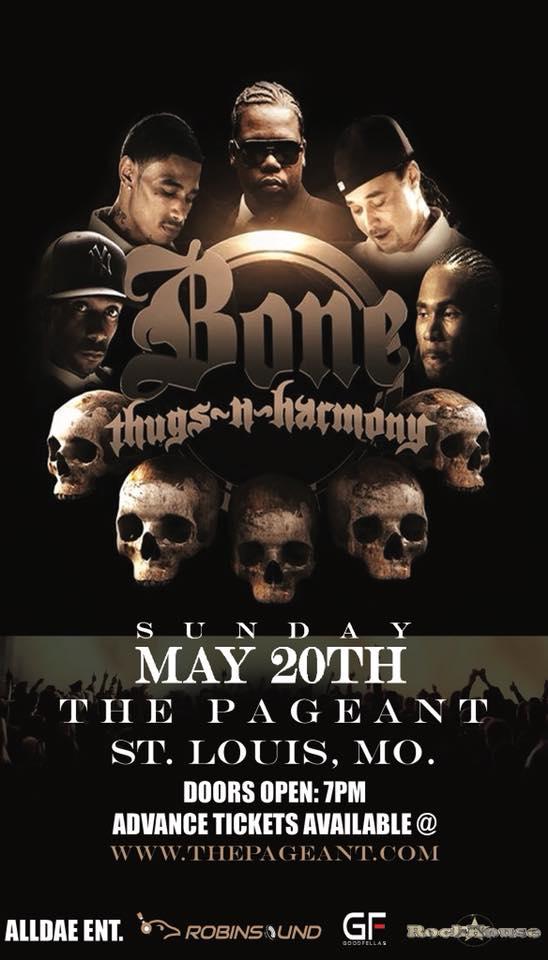 Bone Thug at The Pageant Dark