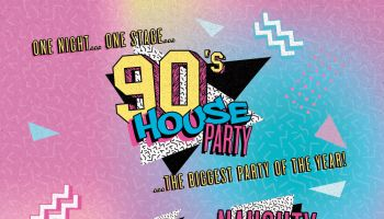 90's House Party with Vanilla Ice
