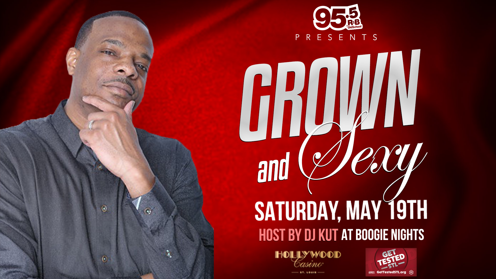 Grown and Sexy at Boogie Nights with DJ Kut