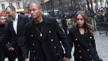 Balmain Homme : Outside Arrivals - Paris Fashion Week - Menswear F/W 2018-2019