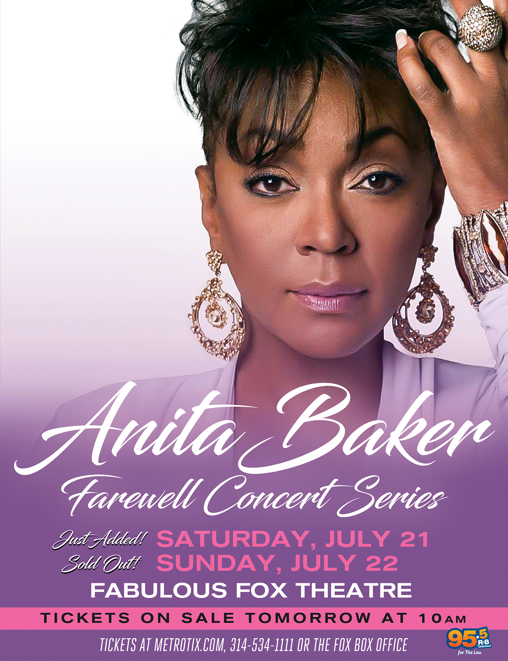 Anita Baker Second Show PreSale