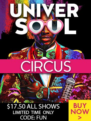 Universoul Circus $17.50