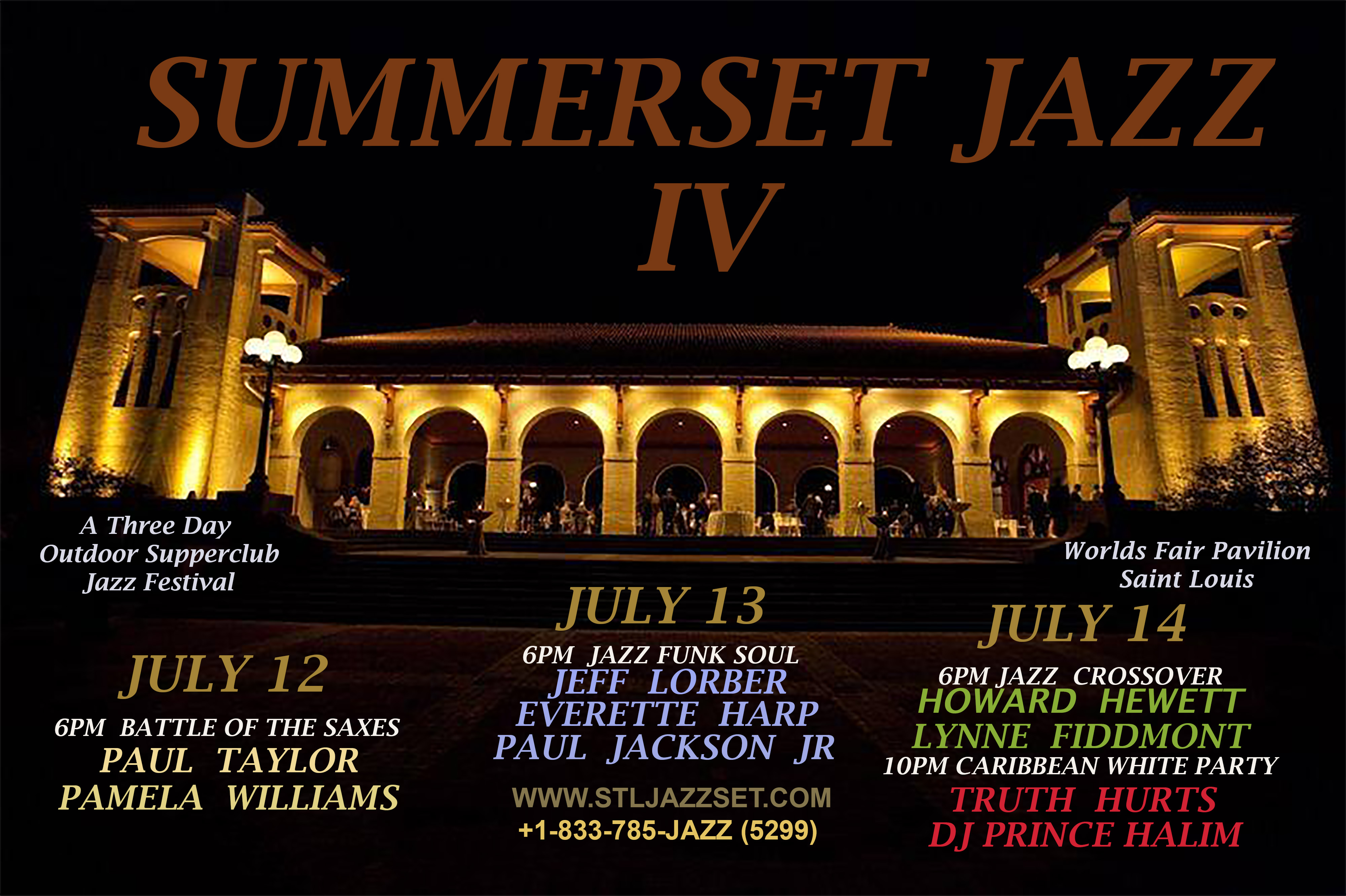 SUMMERSET JAZZ FEST 2018