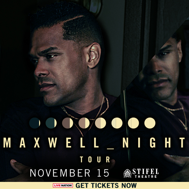 Maxwell at Stifel Opera House 2018