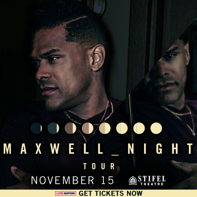 Maxwell at Stifel Opera House 2018