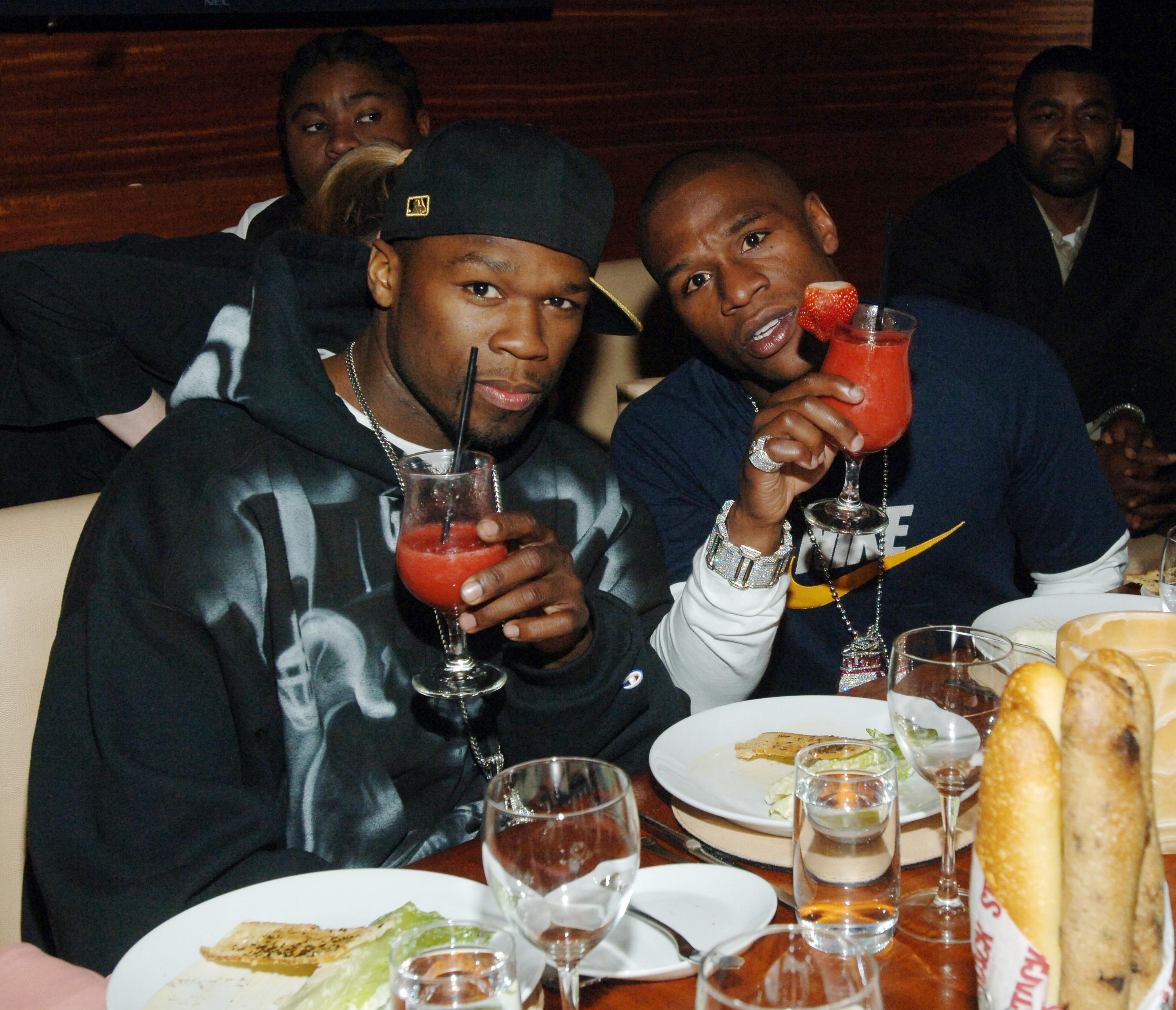 Floyd Mayweather Jr.'s 30th Birthday Diner at STACK Restaurant at The Mirage Hotel and Casino Resort
