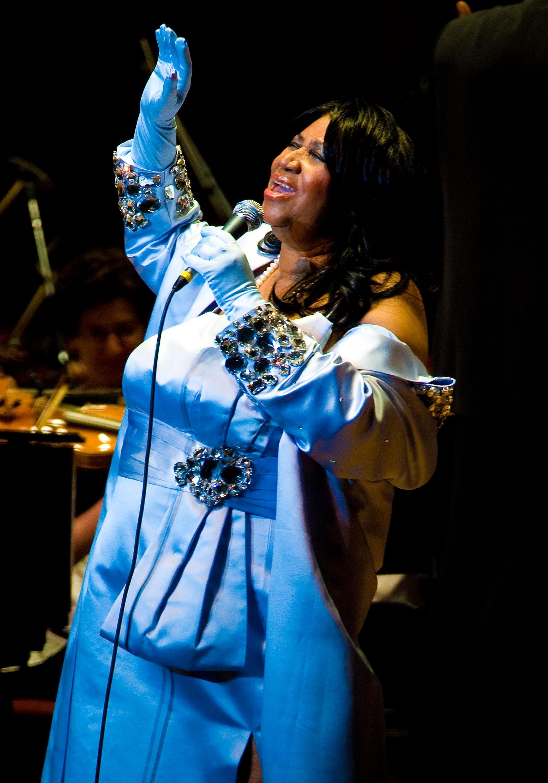 Aretha Franklin & Condoleezza Rice In Concert