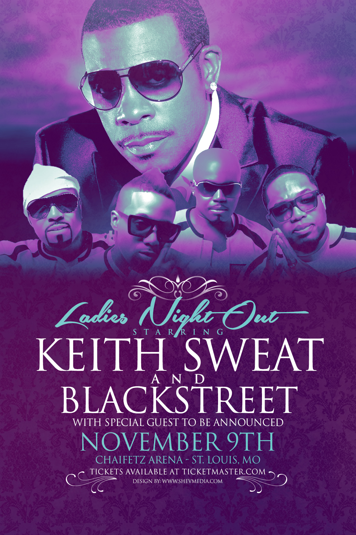 Ladies Night Out with Keith Sweat and Blackstreet