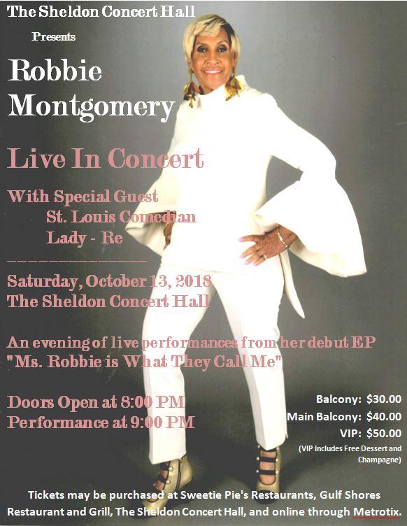 Robbie Montgomery Live