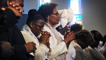 Easter Sunday at the Refreshing Spring Church of God in Christ, in Riverdale, Maryland.